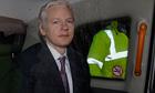 WikiLeaks founder Assange leaves Belmarsh Magistrates Court in east London