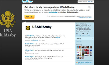 U.S. State Department Launches Arabic Twitter Feed