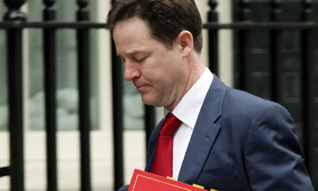 Nick Clegg was tormented by Labour over plans to permit voters to recall MPs for serious wrongdoing.