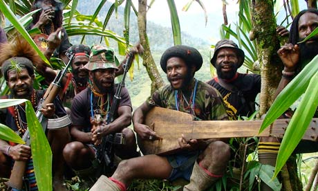 West Papua freedom fighters