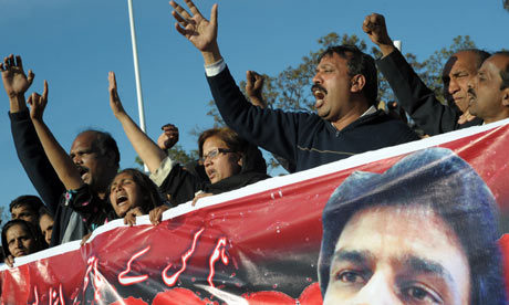 Christians rally in Pakistan