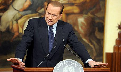Silvio Berlusconi rubbished allegations against him