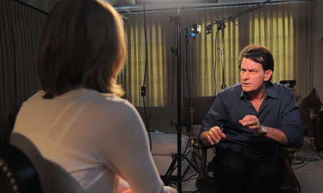 Charlie Sheen on ABC News. Charlie Sheen's dismissal by Warner Brothers ...