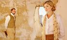 Joseph Mawle as Gerald Crich and Rosamund Pike as Gudrun Brangwen in BBC4's Women in Love.