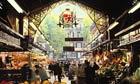 A market on Las Ramblas, Barcelona.