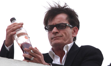 charlie sheen drugs. Charlie Sheen Sighting - Los