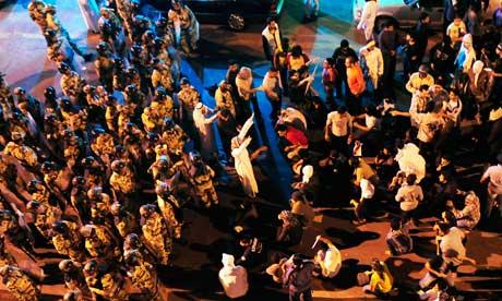 Anti-riot police Saudi Arabia Awwamiya