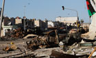 Besieged Libyan City Of Misrata Struggles Against Gaddafi's Forces