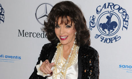 joan collins 2011. Joan Collins is too polite in