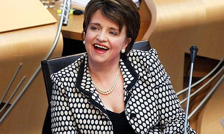 Former Scottish Labour party leader Wendy Alexander is one of five female MSPs who have stood down.