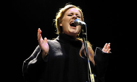 Adele at the Tabernacle, London, 2011