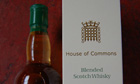 House of Commons whisky