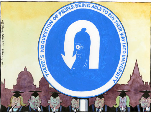 11.05.11: Steve Bell cartoon