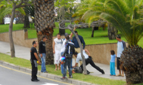 Female Beheading Pics http://www.guardian.co.uk/world/2011/may/13/woman-beheaded-tenerife-supermarket-spain