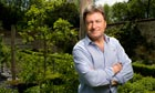 Back to his roots: Alan Titchmarsh in the gardens of Chawton House, Hampshire.