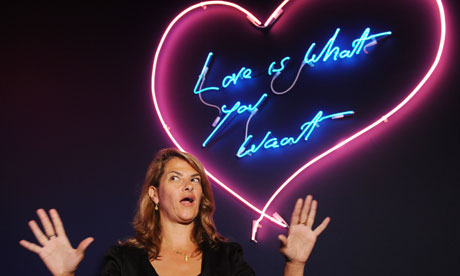 ... horses with her drunkenness on TV and sexually explicit art Tracey Emin ...