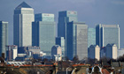 Where students want to be: tower blocks at Canary Wharf in London housing investment banks