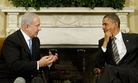 Barack Obama meets with Binyamin Netanyahu