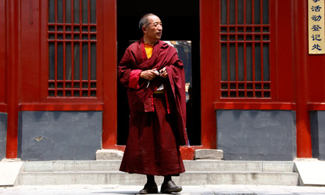 Tibetan Buddhist monk China