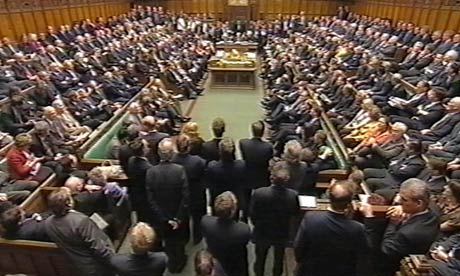 House of commons debate