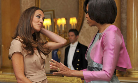 Michelle Obama and Kate Middledton