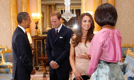 Barack Obama at Buckingham Palace