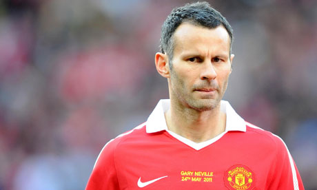 ryan giggs 2011. Ryan Giggs: celebrity or
