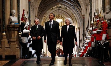 Barack Obama at Westminster