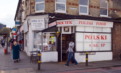 polish in uk