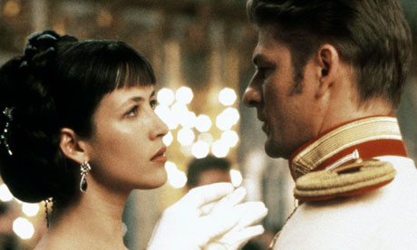 Sophie Marceau and Sean Bean in 1997 film of Anna Karenina
