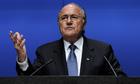 Fifa president Sepp Blatt