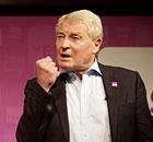 Paddy Ashdown at an yes-to-AV refeeendum rally
