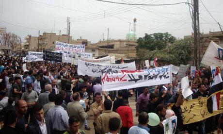 Syria uprising