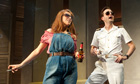 Catherine Tate (Beatrice) and David Tennant (Benedick) in Much Ado About Nothing