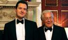 George Osborne Mervin King