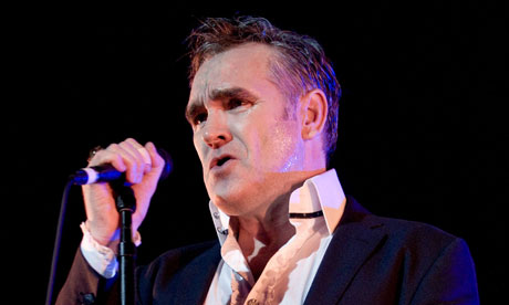 Morrissey in concert at Perth Concert Hall