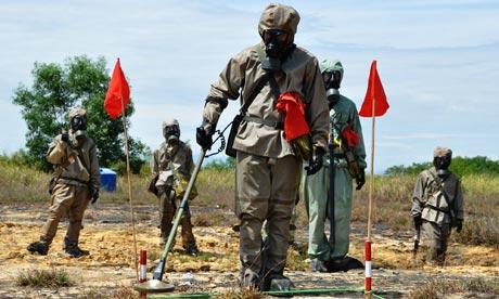 Vietnamese Mine Sweepers