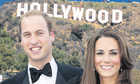 Kate and Wills in La-La land