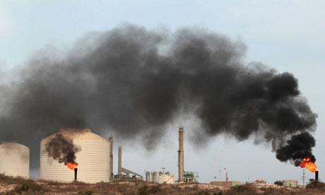oil terminal Gaddafi