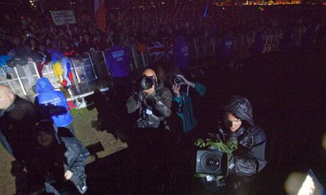 Bono's picture of Guardian photographer David Levene
