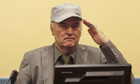 Ratko Mladic faces his accusers