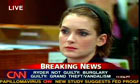 Winona Ryder in court