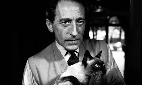 Jean Cocteau in Paris in 1950