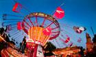 The Chair-O-Plane ride at Carters Steam Fair