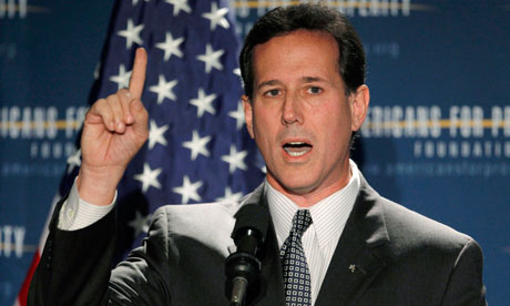 Rick Santorum joins Republican presidential race