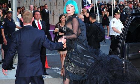 lady gaga 2011 cfda fashion awards. BST. Lady Gaga arrives the