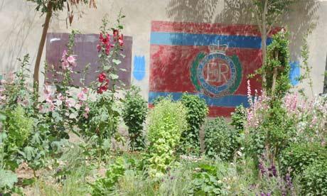 Garden in Lashkar Gah