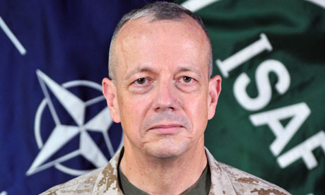 General Allen plays down urgency of NATO supply deal