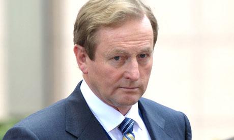 Irish prime minster Enda Kenny
