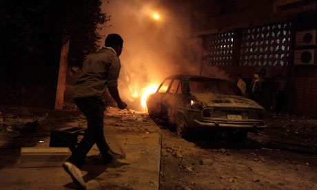 New violence in Cairo protests, Egypt